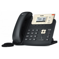 Yealink SIP-T21P E2 SIP-телефон, 2 линии, PoE, с номером +7(812)ХХХ-ХХ-ХХ