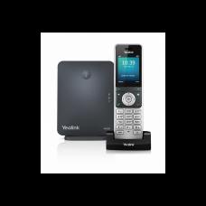 Yealink W60P DECT SIP-телефон, с номером +7(812)ХХХ-ХХ-ХХ