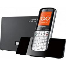 Gigaset SL450A GO RUS SILVER, беспроводной ip телефон, с номером +7(812)ХХХ-ХХ-ХХ